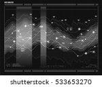 data analysis visualization.... | Shutterstock .eps vector #533653270