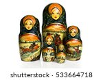 Matryoshka   Pieces Of Wooden...