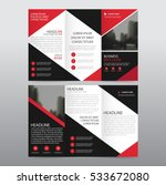 red black triangle business... | Shutterstock .eps vector #533672080