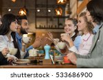 young business people group... | Shutterstock . vector #533686900