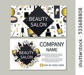 beauty salon. beauty  makeup ... | Shutterstock .eps vector #533688808