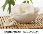 bowl of krupuk  indonesian... | Shutterstock . vector #533690224
