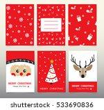 design christmas cards 2017... | Shutterstock .eps vector #533690836