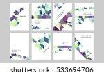 geometric background template...   Shutterstock .eps vector #533694706