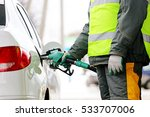 car refueling on the petrol... | Shutterstock . vector #533707006