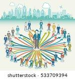 business hub | Shutterstock .eps vector #533709394