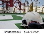 offshore oil rig drilling... | Shutterstock . vector #533713924