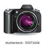 digital camera   Shutterstock .eps vector #53371636