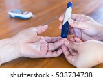 close up of young woman hands... | Shutterstock . vector #533734738