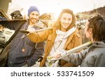 best friends having fun... | Shutterstock . vector #533741509