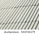 asbestos cement roof texture  | Shutterstock . vector #533744179