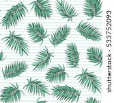 blue green exotic tropical palm ... | Shutterstock .eps vector #533752093