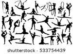 gymnastics | Shutterstock .eps vector #533754439