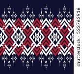 geometric ethnic pattern... | Shutterstock .eps vector #533763916