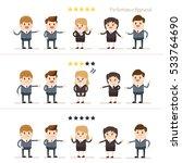 performance appraisal.... | Shutterstock .eps vector #533764690