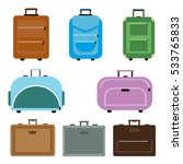 travel bags vector. travel bags ... | Shutterstock .eps vector #533765833
