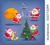 collection of cartoon vector... | Shutterstock .eps vector #533773399