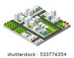 top view of the city | Shutterstock . vector #533776354