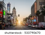 hollywood  ca   october 12 ... | Shutterstock . vector #533790670