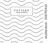 wave seamless minimalistic... | Shutterstock .eps vector #533792410