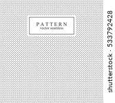 polka dot seamless vector... | Shutterstock .eps vector #533792428
