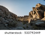 Lone Pine Peak view at Alabama Hills, Eastern Sierra Nevada Mountains, Lone Pine, California, USA