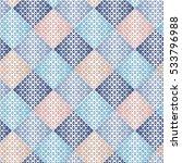 watercolor flower pattern | Shutterstock .eps vector #533796988