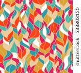 seamless abstract colorful... | Shutterstock .eps vector #533803120