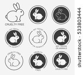 no animals testing icon design. ...