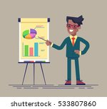 confident young african... | Shutterstock .eps vector #533807860