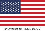 flag of united states vector...   Shutterstock .eps vector #533810779