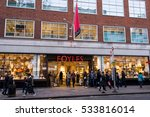 london  uk   11 december 2016 ... | Shutterstock . vector #533816014