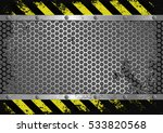 grunge background with danger...   Shutterstock .eps vector #533820568