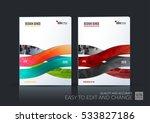 business vector set. brochure...   Shutterstock .eps vector #533827186
