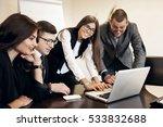business people | Shutterstock . vector #533832688
