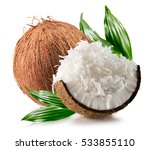 Coconuts With Coconuts Flakes...