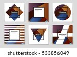 abstract vector layout... | Shutterstock .eps vector #533856049