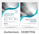 brochure layout design template | Shutterstock .eps vector #533857936