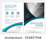 brochure layout design template | Shutterstock .eps vector #533857948