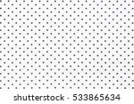close up of black dots... | Shutterstock . vector #533865634
