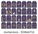 vector big collection of hand... | Shutterstock .eps vector #533866714