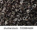 close up snap button pattern... | Shutterstock . vector #533884684