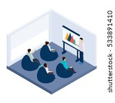 coworking training for people... | Shutterstock . vector #533891410