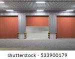 roller shutter door and... | Shutterstock . vector #533900179