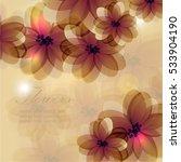 flowers | Shutterstock .eps vector #533904190