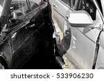 detail with damage automobile... | Shutterstock . vector #533906230