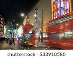 london  uk   december 8th  2016 ... | Shutterstock . vector #533910580