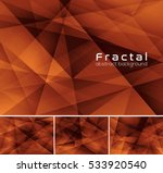 fractal abstract background.... | Shutterstock .eps vector #533920540