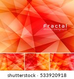 fractal abstract background.... | Shutterstock .eps vector #533920918