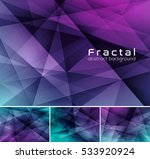 fractal abstract background.... | Shutterstock .eps vector #533920924